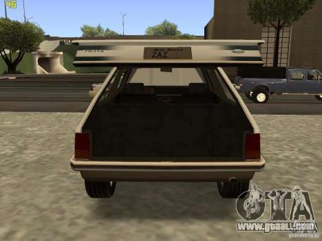 Ford Fiesta 1981 for GTA San Andreas right view