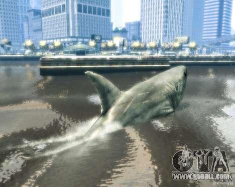 Megalodon for GTA 4 back view