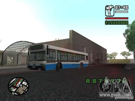 Maz 103 for GTA San Andreas left view