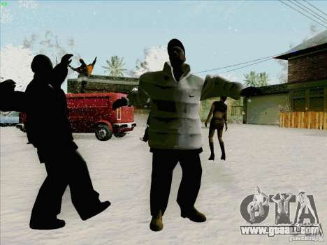 Harlem Shake for GTA San Andreas forth screenshot
