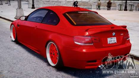 BMW M3 Hamann E92 for GTA 4 right view