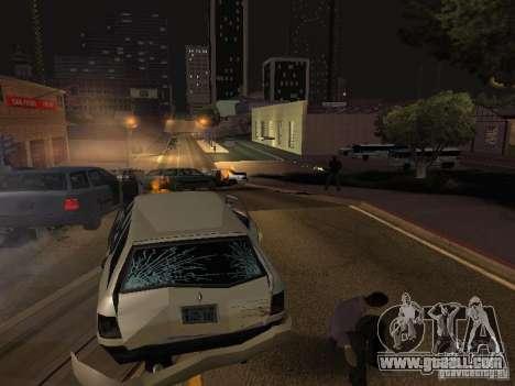 Free moving camera for GTA San Andreas third screenshot
