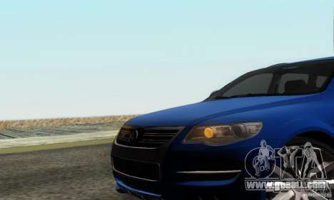 VolksWagen Touareg R50 JE Design Tuning for GTA San Andreas back view