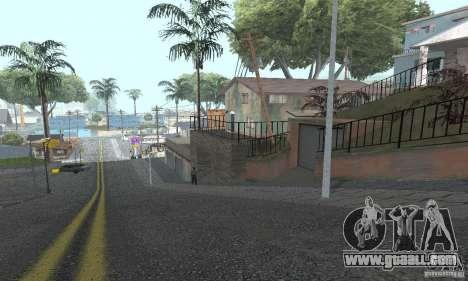 Grove Street 2012 V1.0 for GTA San Andreas eighth screenshot