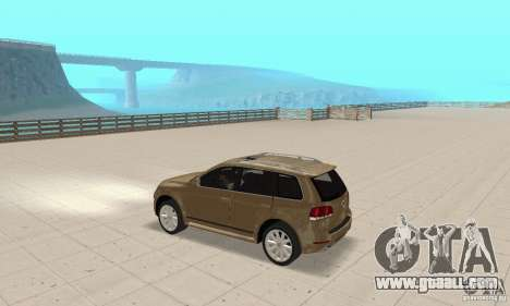 Volkswagen Touareg 2008 for GTA San Andreas back view