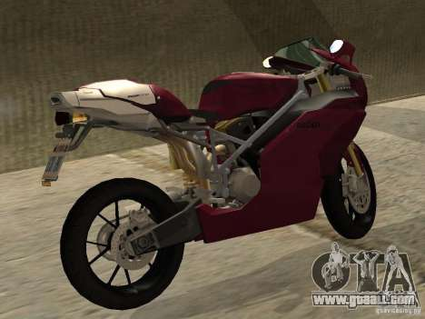 Ducati 999R for GTA San Andreas back left view