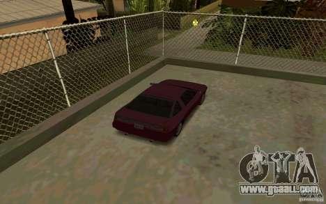 Sport cars near Grove Street for GTA San Andreas