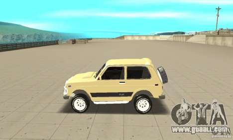 VAZ 21213 4 x 4 for GTA San Andreas left view