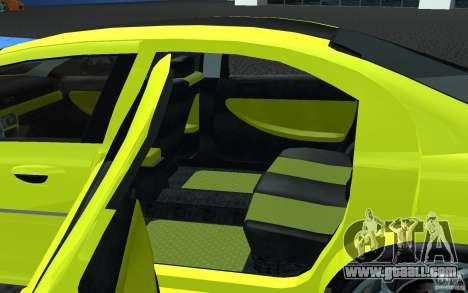 Volga Siber 2.5 AT Restailing for GTA San Andreas back left view