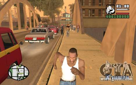 Resident Evil Dead Aim for GTA San Andreas third screenshot