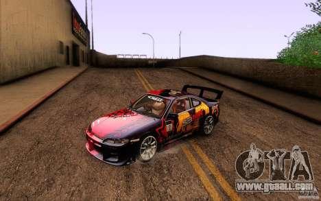 Nissan Silvia S15 Drift Style for GTA San Andreas interior
