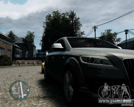 Audi Q7 V12 TDI Quattro Updated for GTA 4 left view
