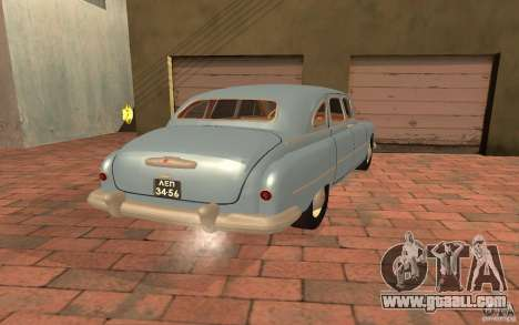 GAZ 12 ZIM for GTA San Andreas left view