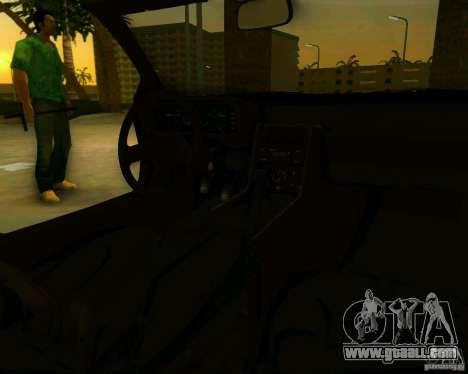 DeLorean DMC-12 V8 for GTA Vice City back left view