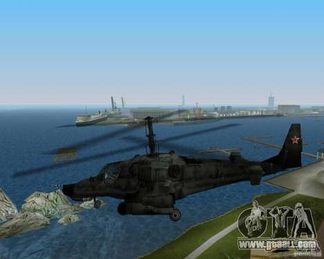 Ka-50 for GTA Vice City right view