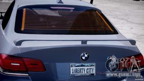 BMW M3 Hamann E92 for GTA 4