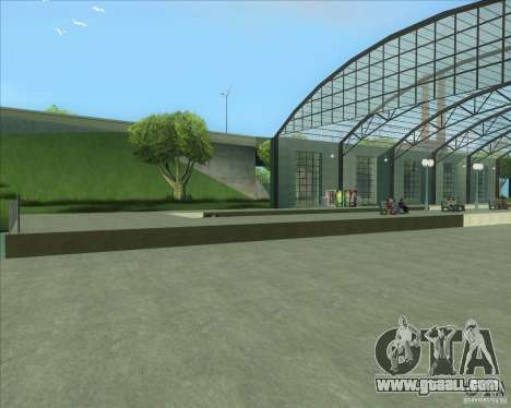 The high platforms at railway stations for GTA San Andreas fifth screenshot