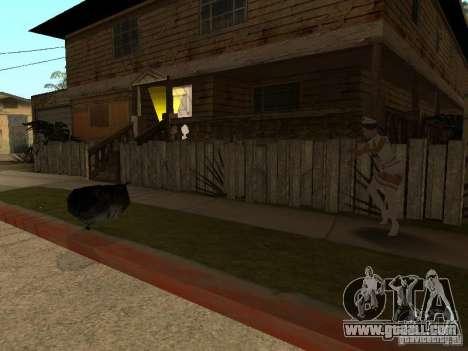 Girlz Medic in Grove for GTA San Andreas third screenshot