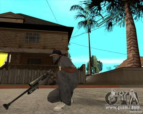 AWP.50 for GTA San Andreas second screenshot