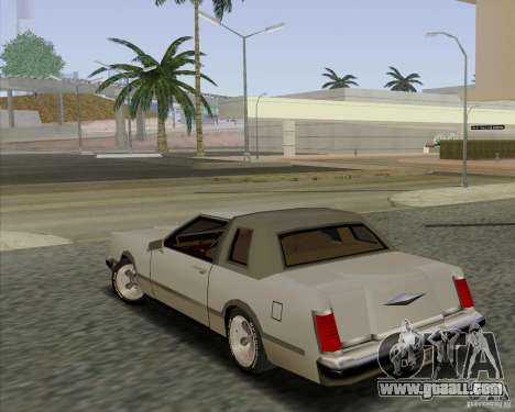 Virgo Continental for GTA San Andreas left view