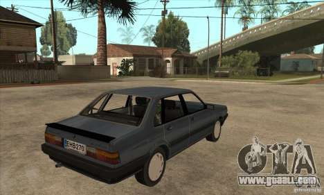 Audi 80 B2 for GTA San Andreas right view