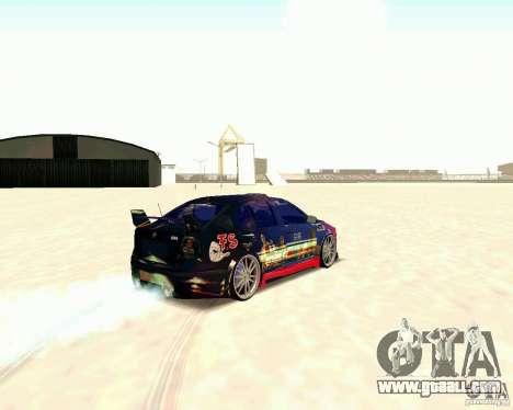Skoda Octavia III Tuning for GTA San Andreas right view