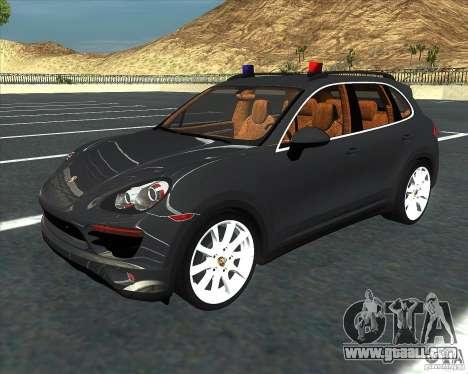 Porsche Cayenne 958 v1.1 for GTA San Andreas