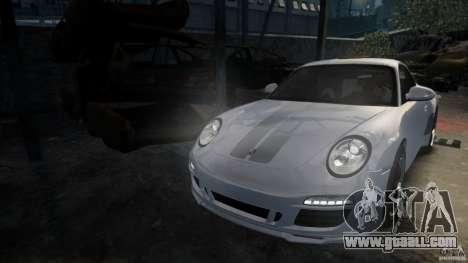 Porsche 911 Sport Classic v2.0 for GTA 4 back left view