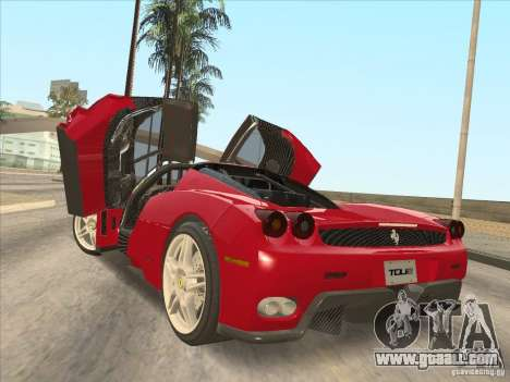 Ferrari Enzo 2010 for GTA San Andreas left view