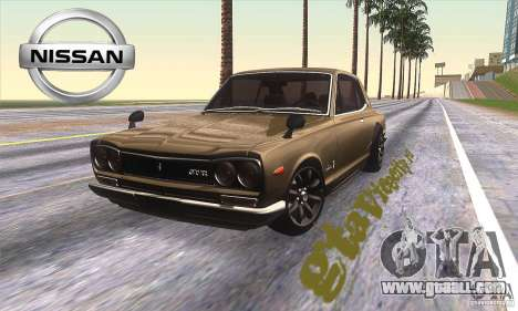 Nissan Skyline 2000 GT-R for GTA San Andreas