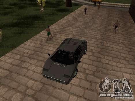 Lamborghini Countach 25th for GTA San Andreas right view