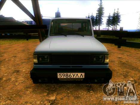 UAZ 3170 for GTA San Andreas right view