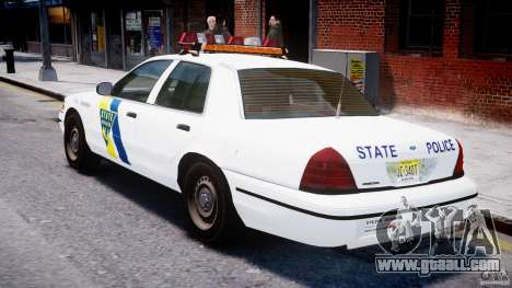 Ford Crown Victoria New Jersey State Police for GTA 4 right view