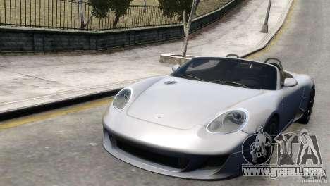RUF RK Spyder 2006 [EPM] for GTA 4 back left view