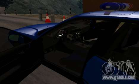 BMW M5 POLICE for GTA San Andreas side view