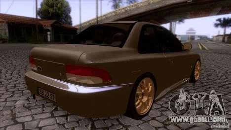 Subaru Impreza 22 for GTA San Andreas right view
