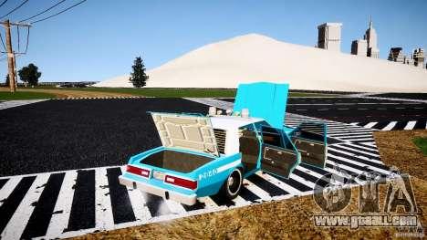 Dodge Diplomat 1983 Police v1.0 for GTA 4 upper view