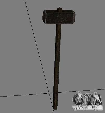 A set of weapons from stalker V2 for GTA San Andreas tenth screenshot