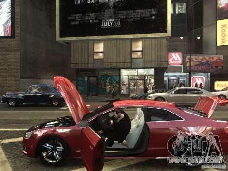 Audi S5 for GTA 4 back left view