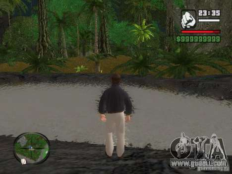 Tony Montana in a shirt for GTA San Andreas second screenshot