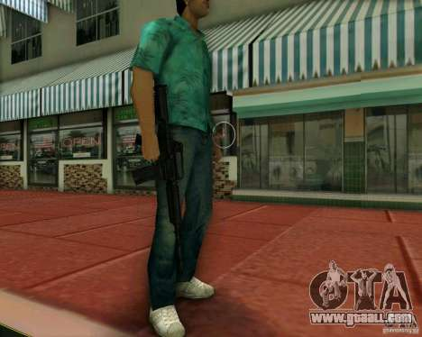 M4A1 for GTA Vice City second screenshot