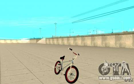 REAL Street BMX mod Chrome Edition for GTA San Andreas