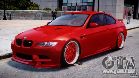 BMW M3 Hamann E92 for GTA 4 left view