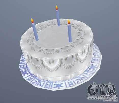 Happy Birthday Grenades for GTA San Andreas