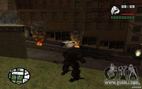 Exoskeleton for GTA San Andreas third screenshot