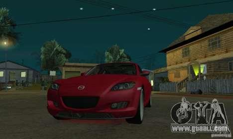 Red neon lights for GTA San Andreas third screenshot