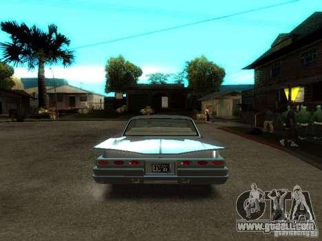 Voodoo in GTA IV for GTA San Andreas back view