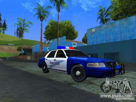 Ford Crown Victoria Belling State Washington for GTA San Andreas left view