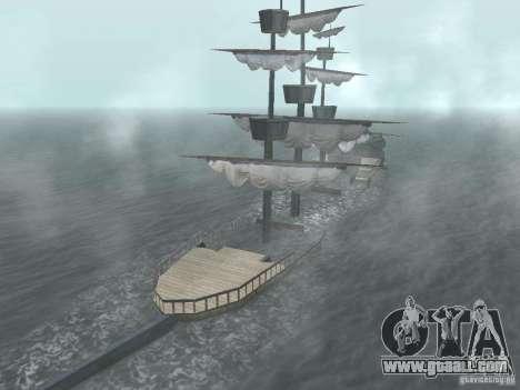 Pirate ship for GTA San Andreas sixth screenshot