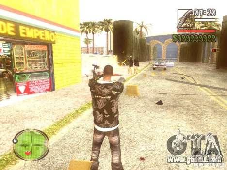 Wild Wild West for GTA San Andreas tenth screenshot